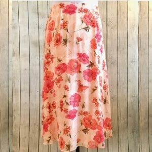 😍HP😍 Dress Barn Coral Skirt | EUC | 1X | $14